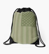 Camo Sternenbanner - USA Flagge militärische Camouflage Farben Rucksackbeutel
