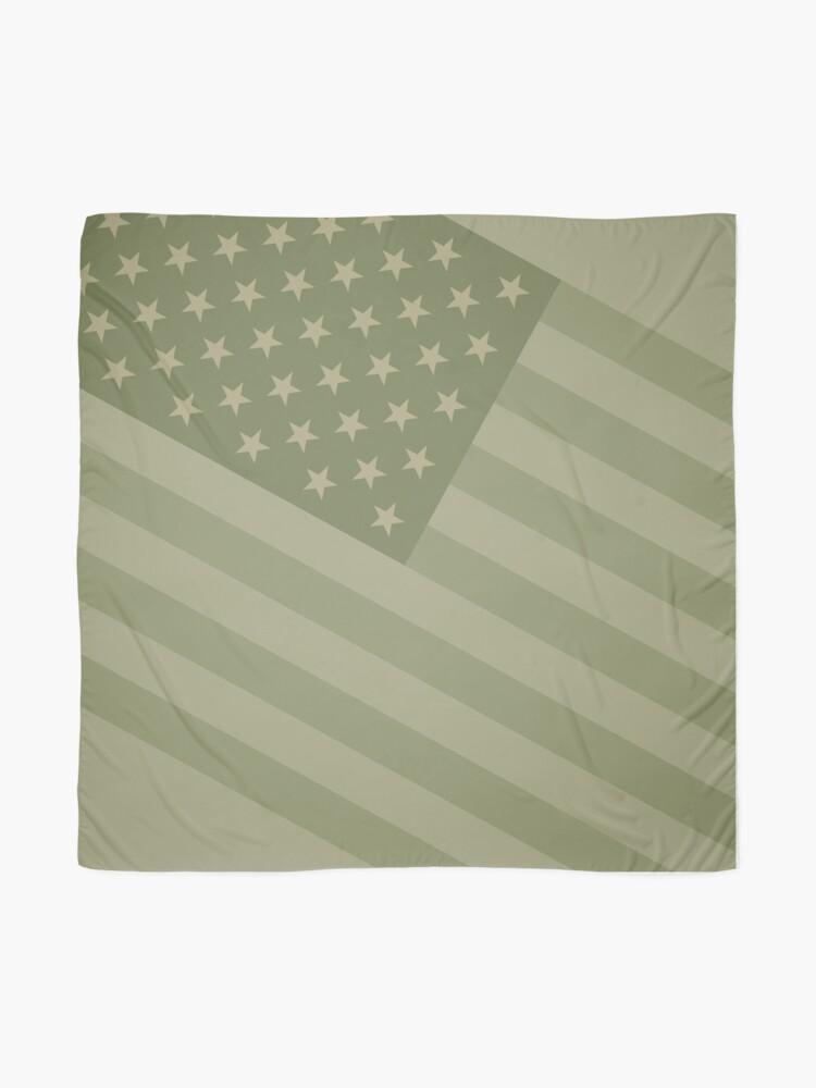 Alternative Ansicht von Camo Sternenbanner - USA Flagge militärische Camouflage Farben Tuch