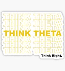 Thank You Theta Sticker