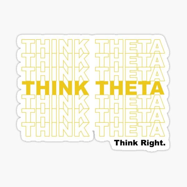 Thank You Theta Sticker