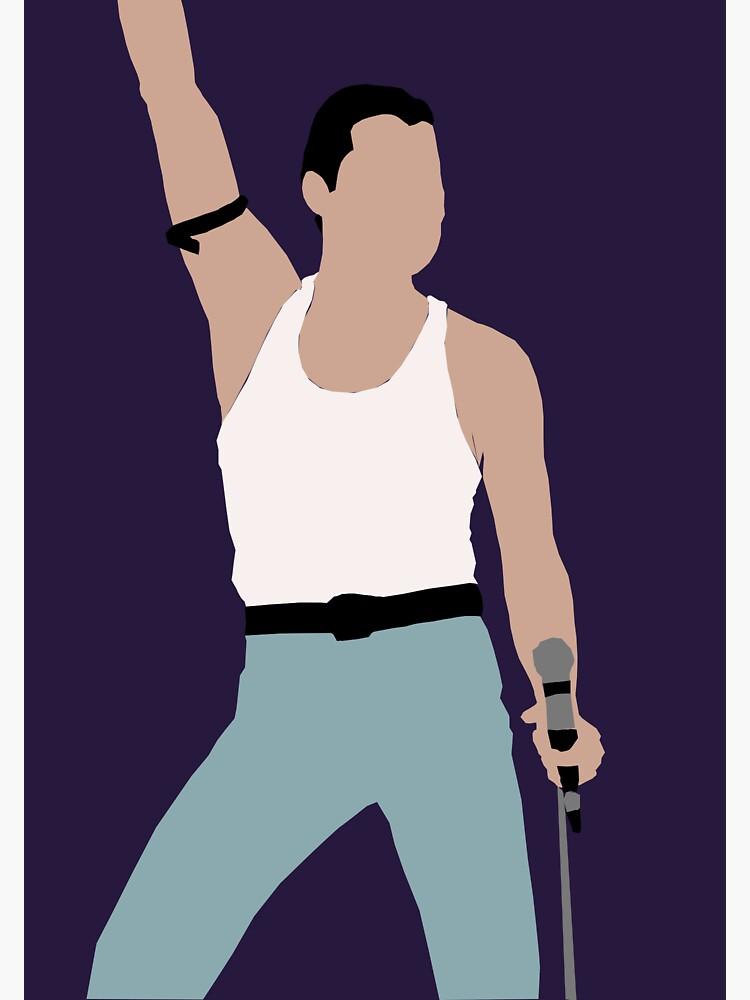 Freddie Mercury de mxlecks