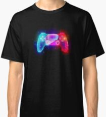 Playstation PS4 Controller - Colour Explosion Classic T-Shirt
