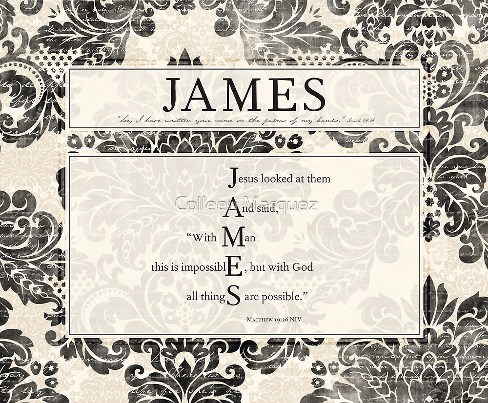 James In the Word by Colleen Marquez