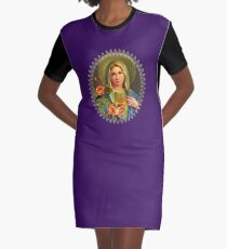 Virgin Mary  Graphic T-Shirt Dress