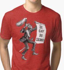 Sei Homosexuell Verbrechen Vintage T-Shirt