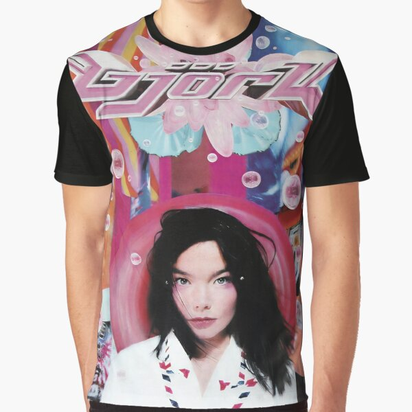 Björk - Post Graphic T-Shirt