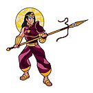 God of War - Lancebearer by artkarthik