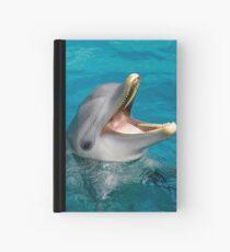 Dolphin smile Hardcover Journal
