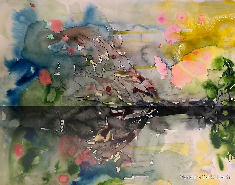 Landschaft mit Wasser von Marianna Tankelevich