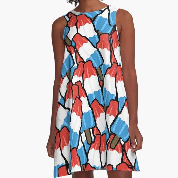 Cool Down Firecracker Delight A-Line Dress