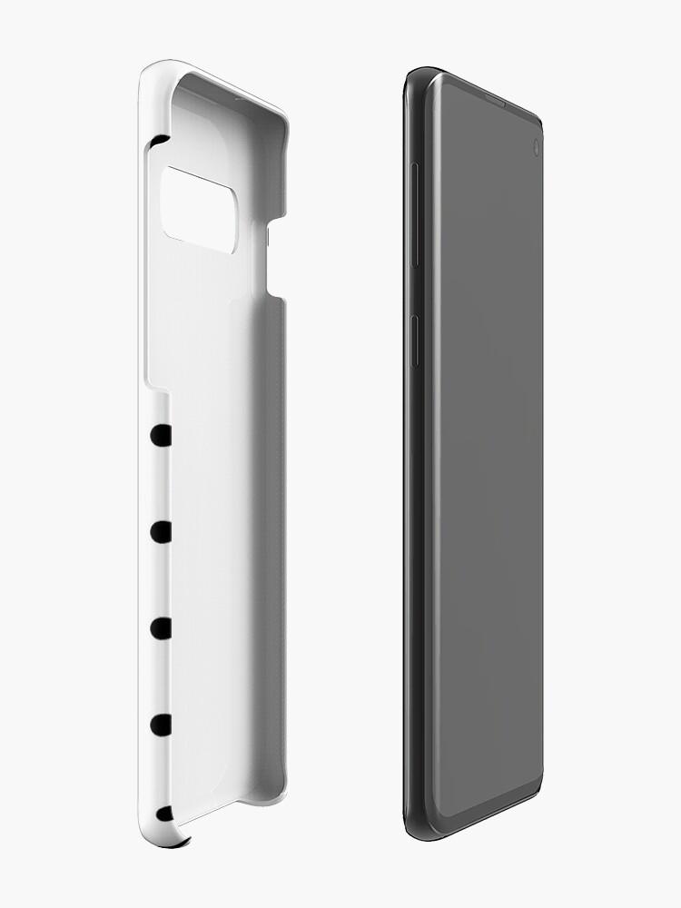 Alternative Ansicht von comme des garcons Polkadot Hülle & Klebefolie für Samsung Galaxy