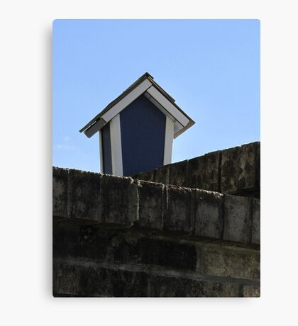 Just a Birdhouse Canvas Print