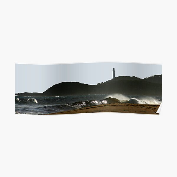 Evening at the Point Poster