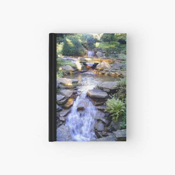 Tranquil Waterfalls Hardcover Journal