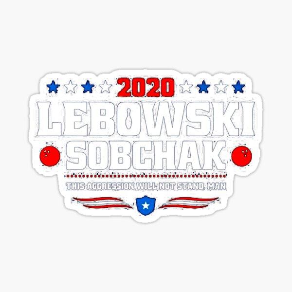 Lebowski Sobchak Sticker