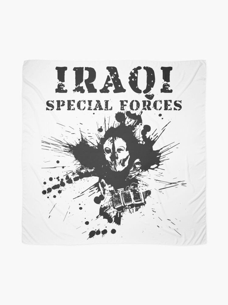 Alternate view of Iraqi Special Forces Scarf