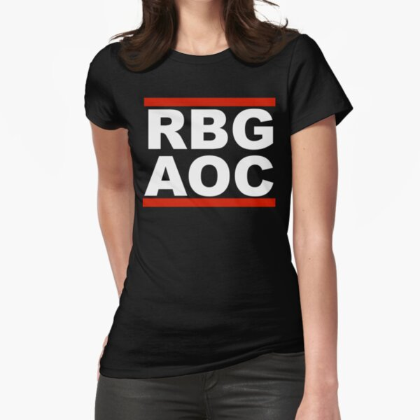 RBG-AOC Shirt Fitted T-Shirt