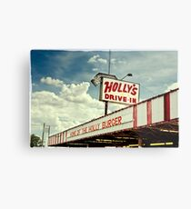 Holly's Drive-In - Post, Texas Metal Print