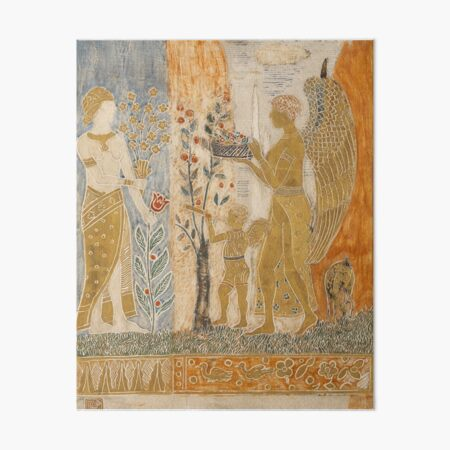 Charles Prendergast. The Offering, 1915-17. Art Board Print