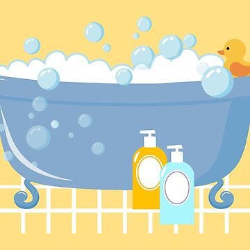 Bubble Bath Tub by Gravityx9