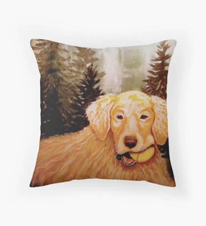 Fetch What? Throw Pillow