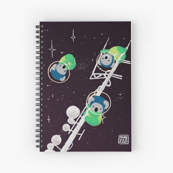 Space Koalas Spiral Notebook