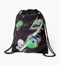 Space Koalas Drawstring Bag