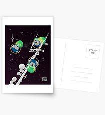 Space Koalas Postcards