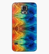 Colorful Abstract Art Pattern - Color Wheels - By Sharon Cummings Case/Skin for Samsung Galaxy