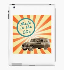 Made in the 50s iPad Case/Skin
