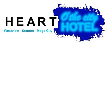 Mega City Heart o' the City Hotel by McPod