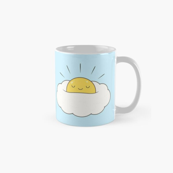 Sunshine for breakfast / Egg cloud Classic Mug