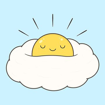 Sunshine for breakfast / Egg cloud by kimvervuurt