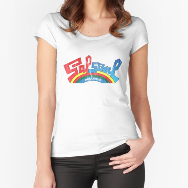 Salsoul Records Fitted Scoop T-Shirt