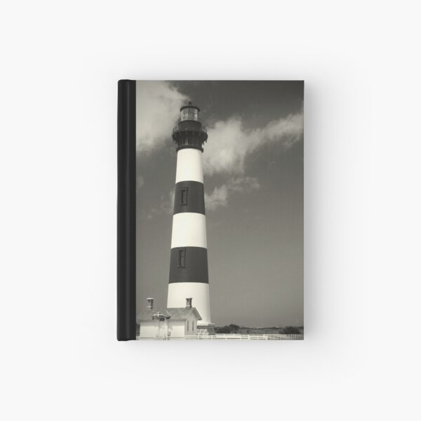 Bodie Island Lighthouse (Mono) Hardcover Journal