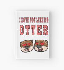 Otter - I love you like no otter Notizbuch