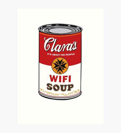 Wifi Soup Art Print