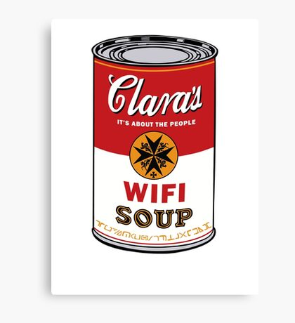 Wifi Soup Canvas Print