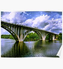 Ford Parkway Mississippi River Crossing Poster