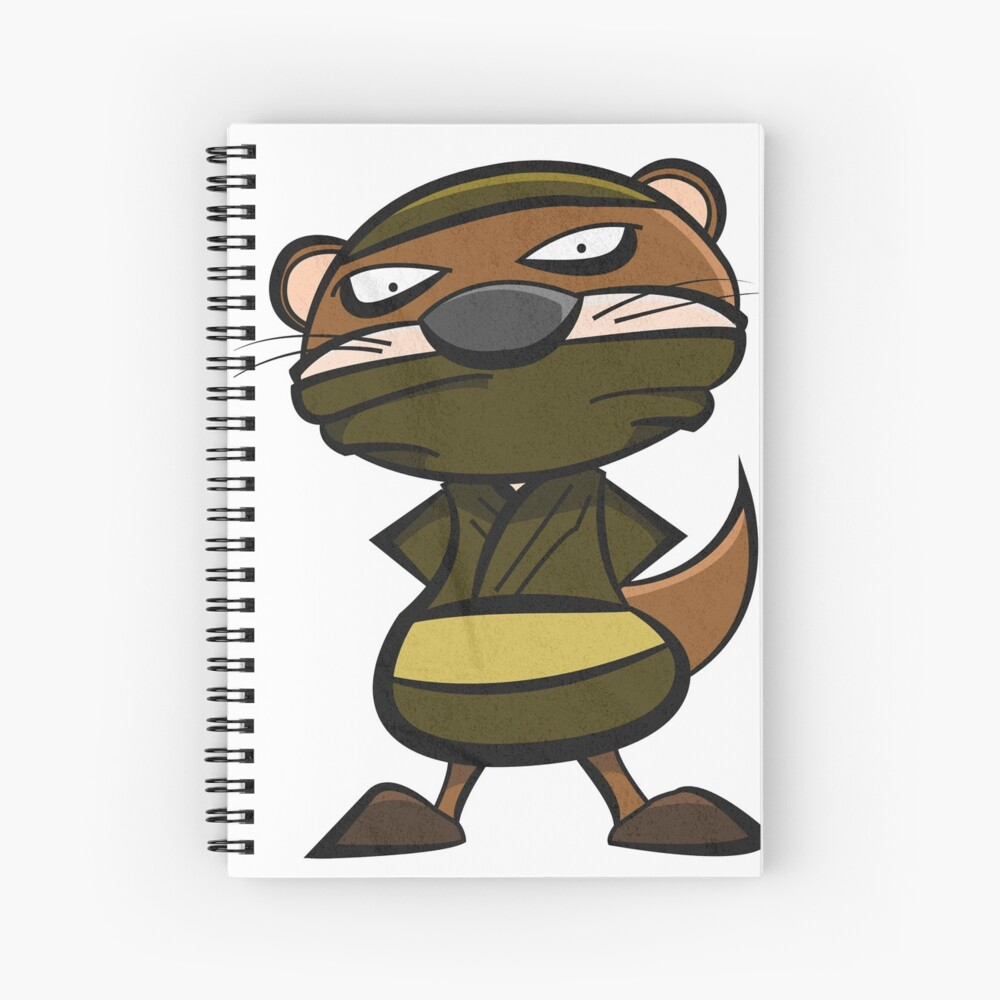 Otter - Ninja Mode Spiralblock
