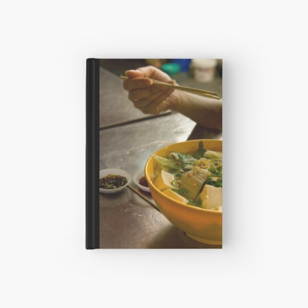Soup in a street Hardcover Journal