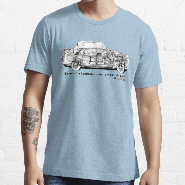 Triumph 2000 MK1 Target... T Shirt Union Jack Triumph 2000 MK1 Men/'s T Shirt