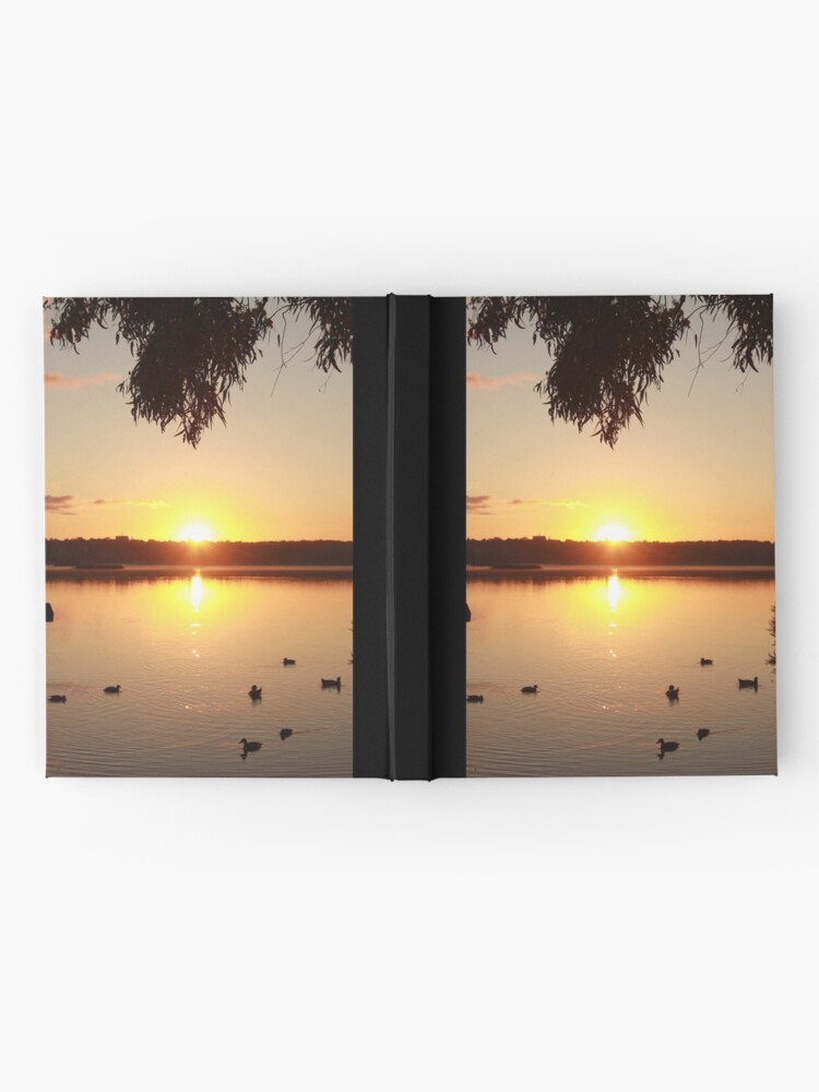 Alternate view of Sunrise over Lake Joondalup Hardcover Journal