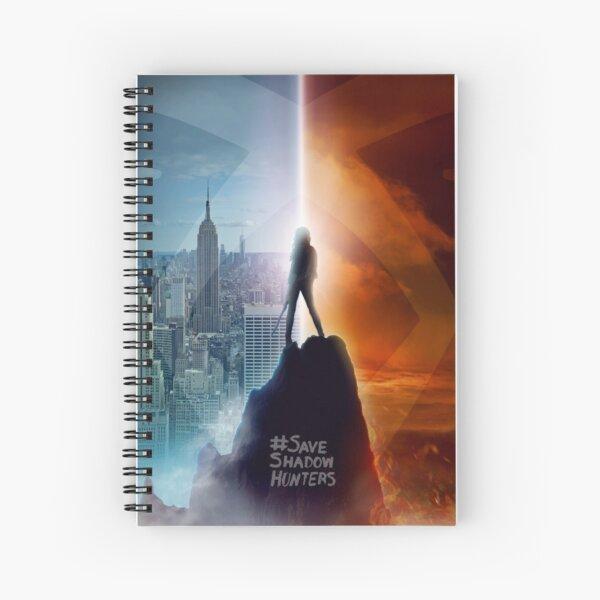 Save Shadowhunters - IconicNephilim Billboard Design - Clean Spiral Notebook