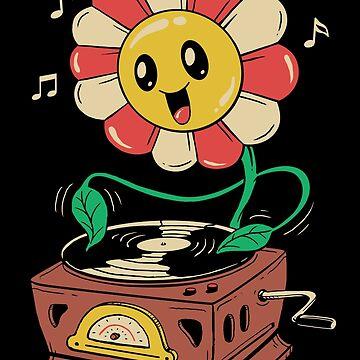 Vinyl Flower by vincenttrinidad