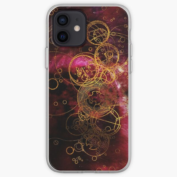 Time Lord Writing (red) iPhone Soft Case