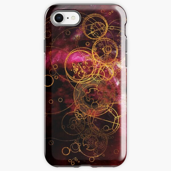 Time Lord Writing (red) iPhone Tough Case