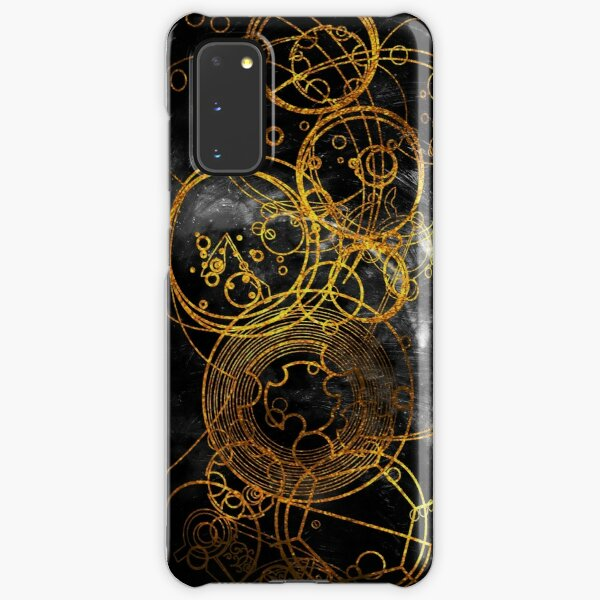 Time Lord Writing (black) Samsung Galaxy Snap Case
