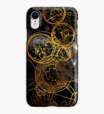 Time Lord Writing (black) iPhone XR Case