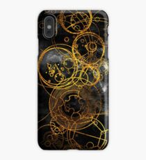 Time Lord Writing (black) iPhone XS Max Case